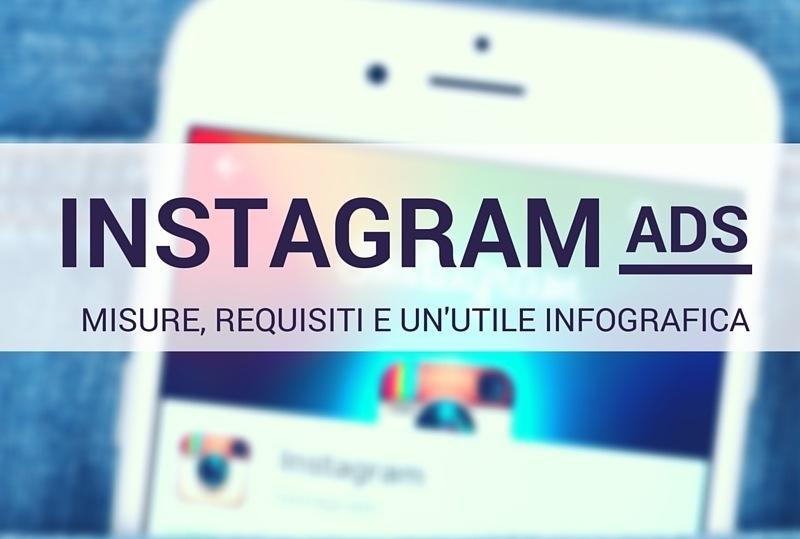 Instagram Ads: misure e requisiti!